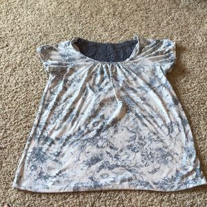 Women's Forever 21 White Lace Top